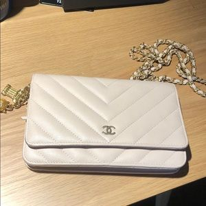 Chanel WOC in Light Pink